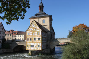 Altes-Rathaus in Bamberg