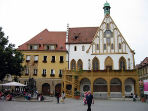 Rathaus in Amberg